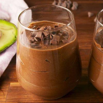 Шоколадный мусс с авокадо - 8 пошаговых фото в рецепте