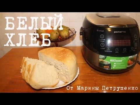 Хлеб с ржаной мукой в мультиварке
