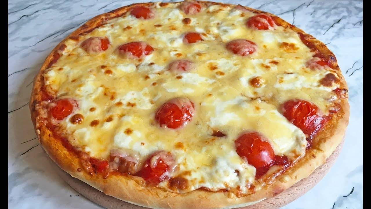 Пицца с ветчиной и сыром - рецепты джуренко