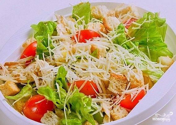 Соус для салата цезарь домашний