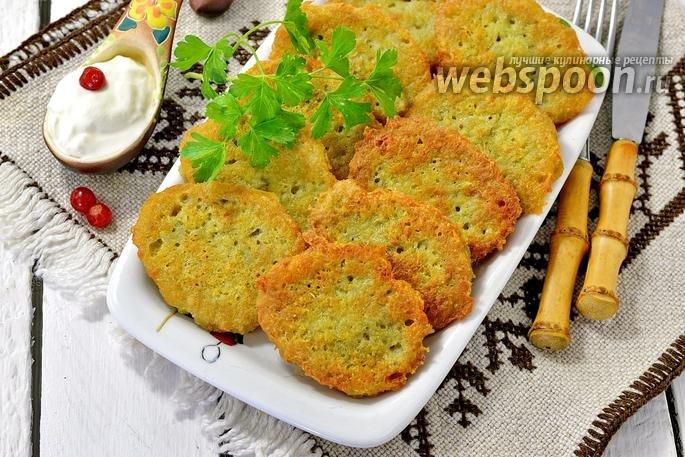 Драники картофельные с сыром - 6 пошаговых фото в рецепте