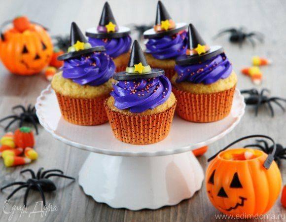 Пирог из тыквы с корицей на хэллоуин