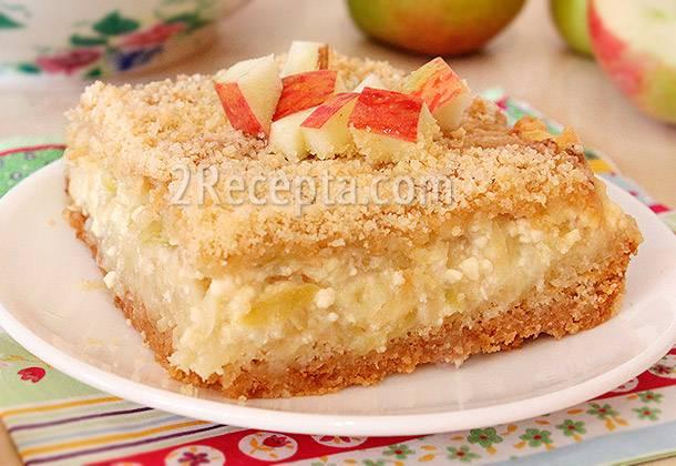Лимонный пирог из рассыпчатого песочного теста