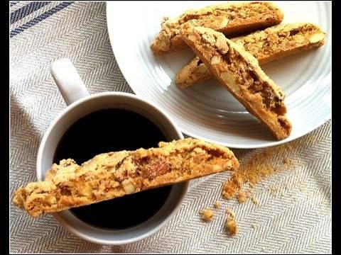 Итальянское печенье «бискотти», 2 рецепта приготовления