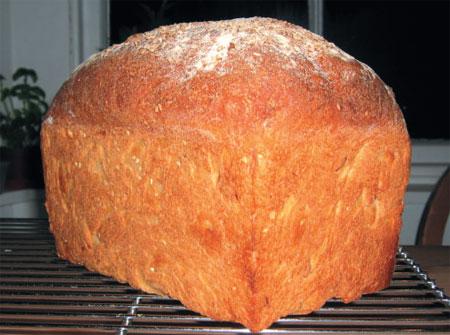 Апельсиново-персиковый кекс с засахаренным лаймом