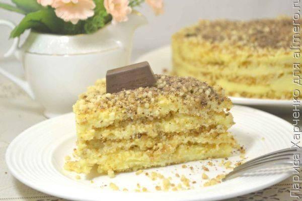 Изумительный праздничный десерт без выпечки на скорую руку