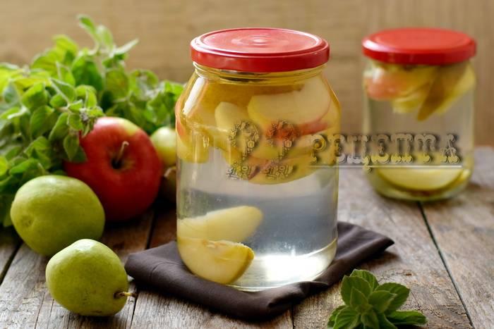 Компот из груши на зиму - простой рецепт вкуснейшего напитка для всей семьи!