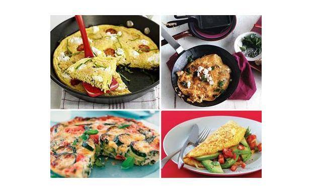Омлет с ветчиной и сыром: рецепт - рецепты