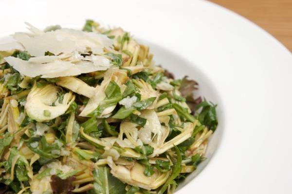 Салат из топинамбура с яйцом