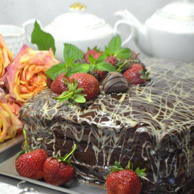 Торты с белым шоколадом: фото и рецепты приготовления домашних тортов с белым шоколадом
