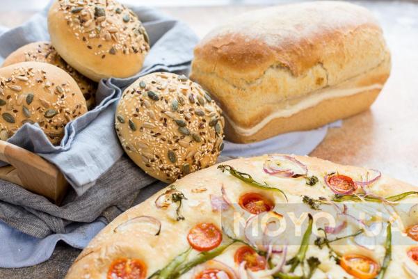 Ирландский быстрый содовый хлеб с овсянкой