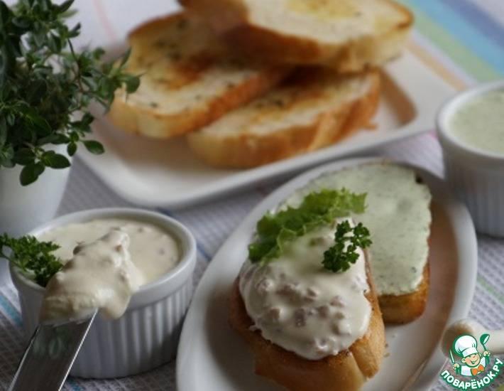 """Бутерброды закусочные """"нежность"""""""