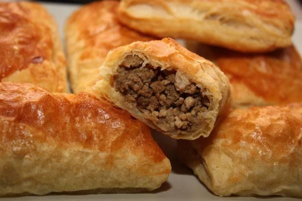 Пирожки в духовке с мясом