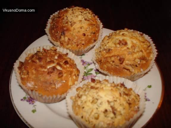 Кекс с клюквой – сладкий десерт с мягкой кислинкой