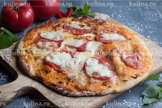 Пицца маргарита, итальянский рецепт классический в домашних условиях