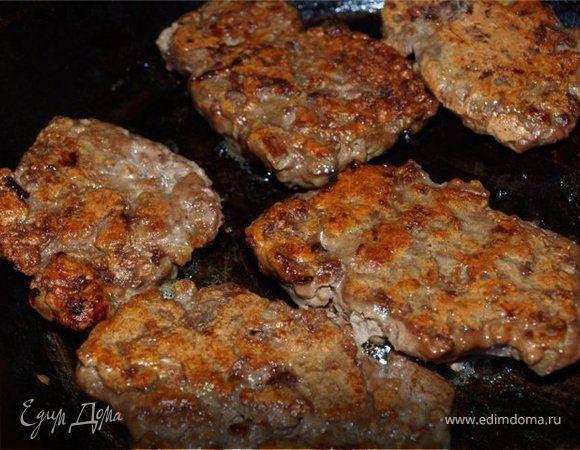 Такие разные котлеты из говяжьей печенки (4 рецепта)