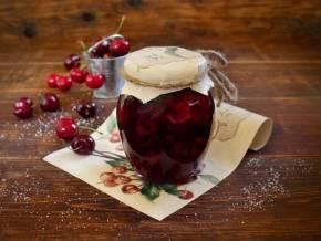 Рецепт вишни в собственном соку