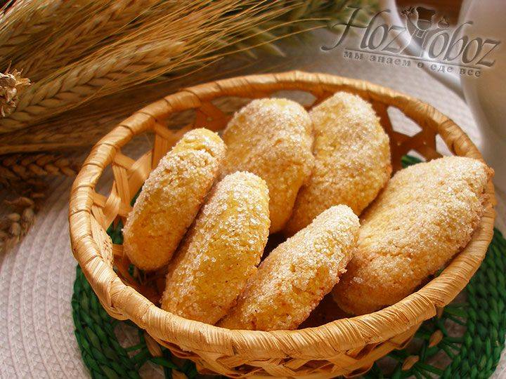 Печенье из кукурузной каши...