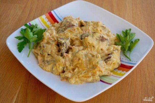 Как приготовить куриную печень на сковороде с луком: топ-8 рецептов