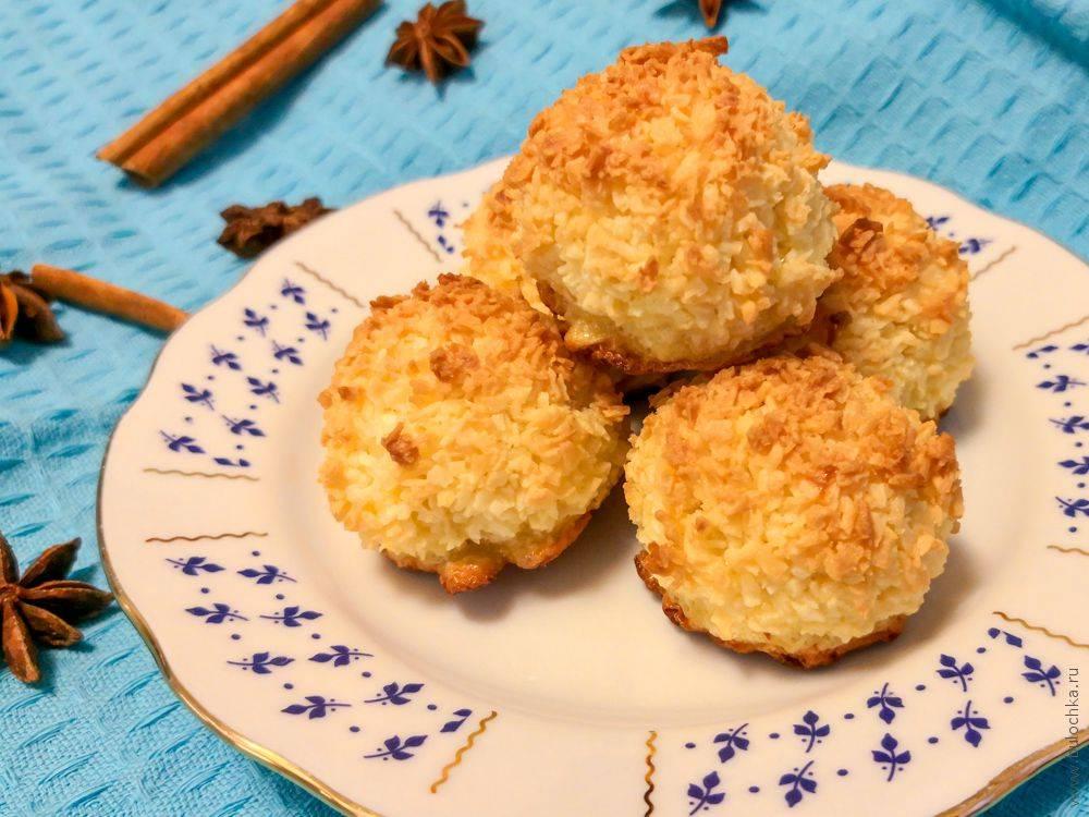 """Кокосовое печенье """"кокосанка"""": пошаговый рецепт с фото"""