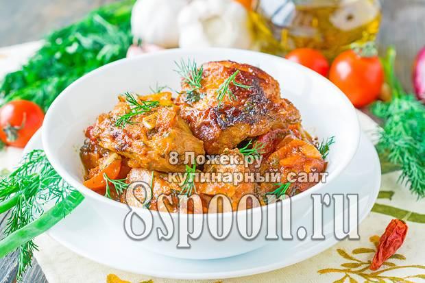 Чахохбили из курицы в мультиварке – щедрое блюдо! рецептуры хлебосольного чахохбили из курицы в мультиварке