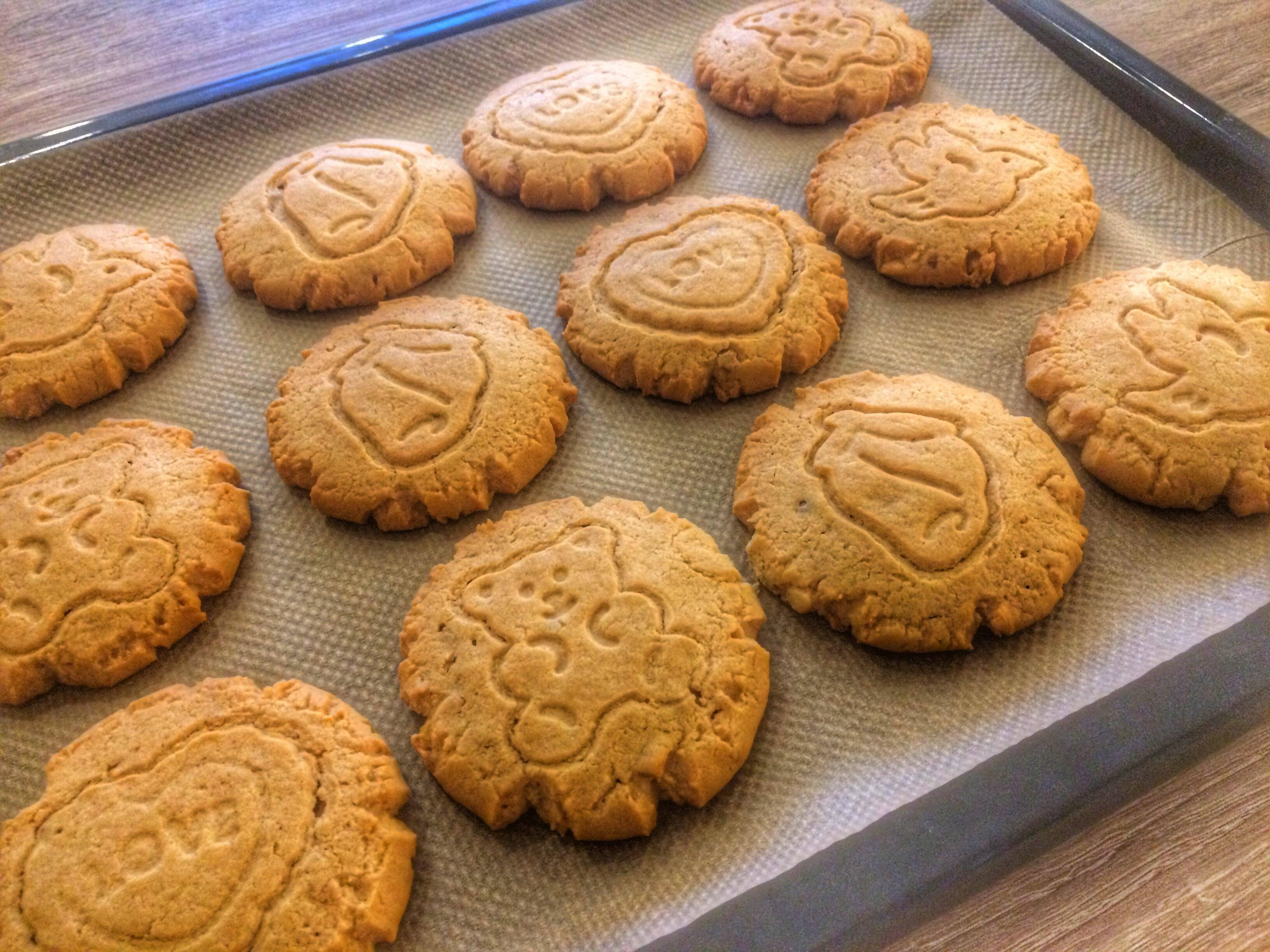 Рассыпчатое арахисовое печенье