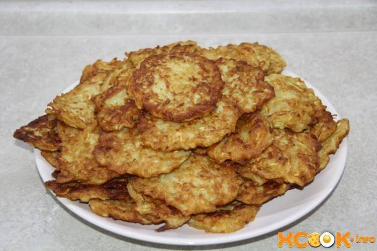 Драники из кабачков — растительный деликатес