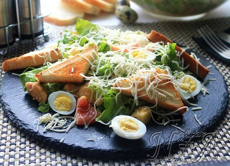 Готовим соус для салата цезарь дома как в ресторане – лучшие рецепты (классические и не только)