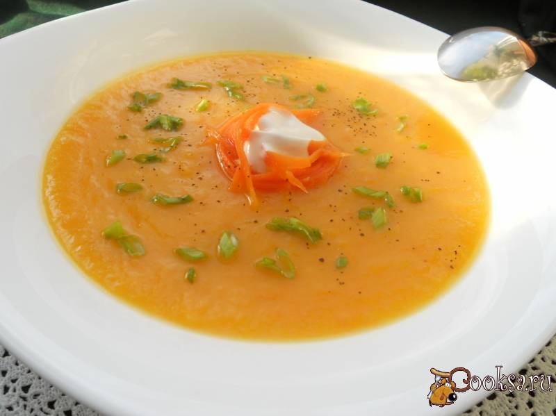Овощной суп-пюре - рецепты со сливками, с курицей, из разных замороженных овощей