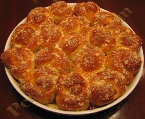 Пошаговый рецепт приготовления кекса с вареньем в духовке