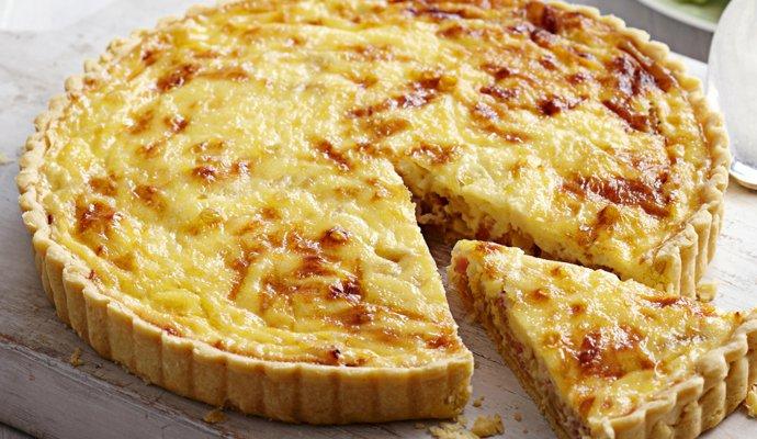 Пошаговый рецепт лоранского пирога с курицей и грибами