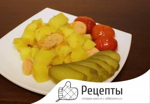 Картошка на сковороде - 501 домашний вкусный рецепт приготовления