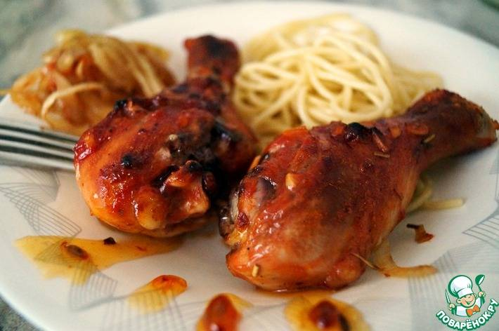 Куриные ножки с хрустящей корочкой в духовке - рецепты голени в панировке, в чипсах, кляре и соевом соусе