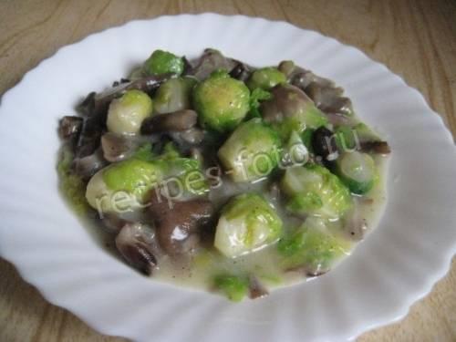Картошка с мясом и капустой