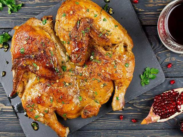 Как запечь курицу чтобы была хрустящая корочка
