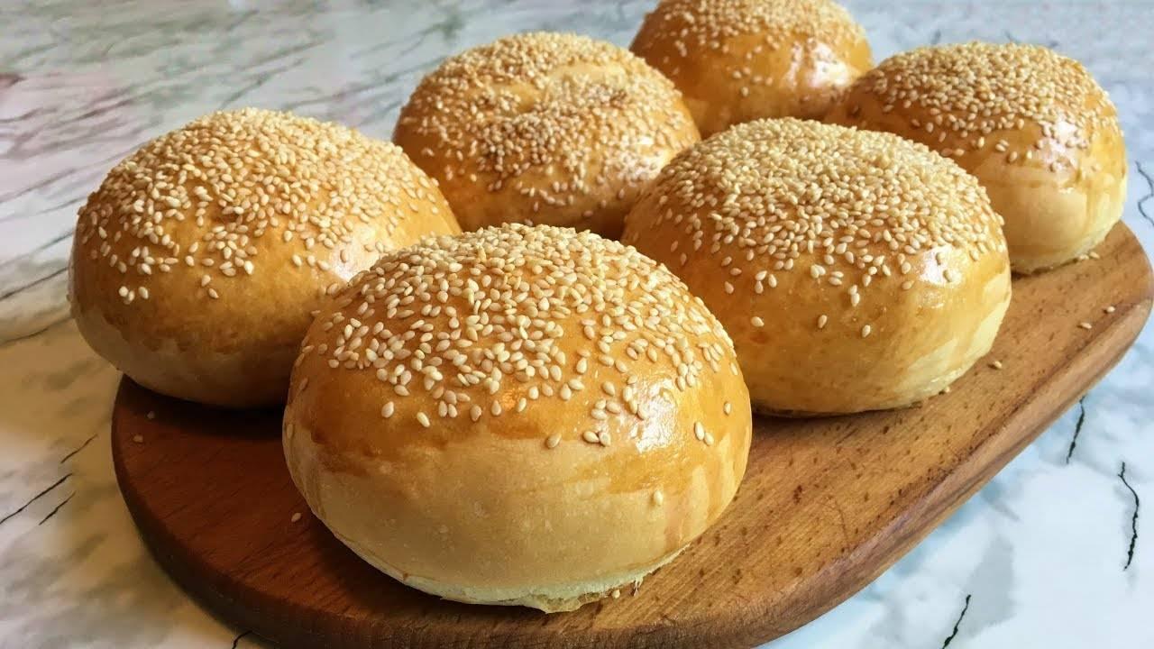 Рецепт булочек с кунжутом - 10 пошаговых фото в рецепте