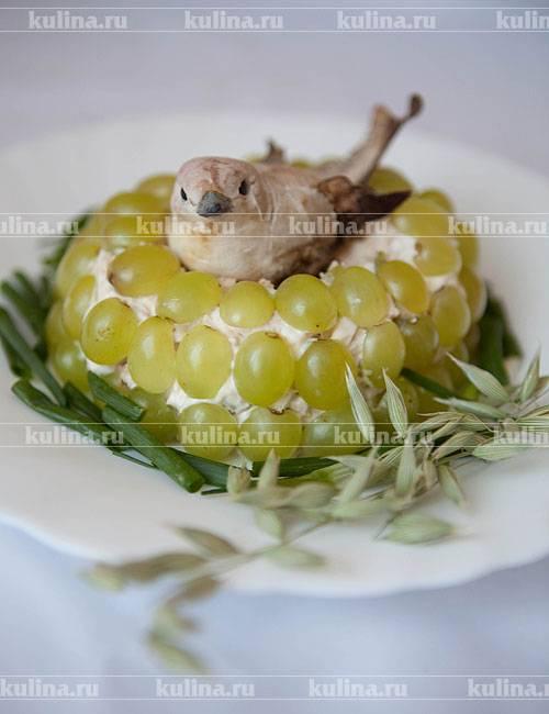 Салат гнездо кукушки