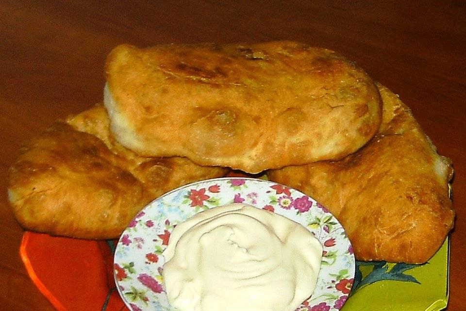 Пошаговый рецепт приготовления пирожков с печенью