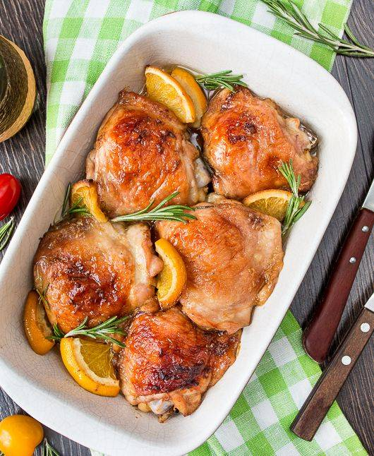 Куриные голени в маринаде