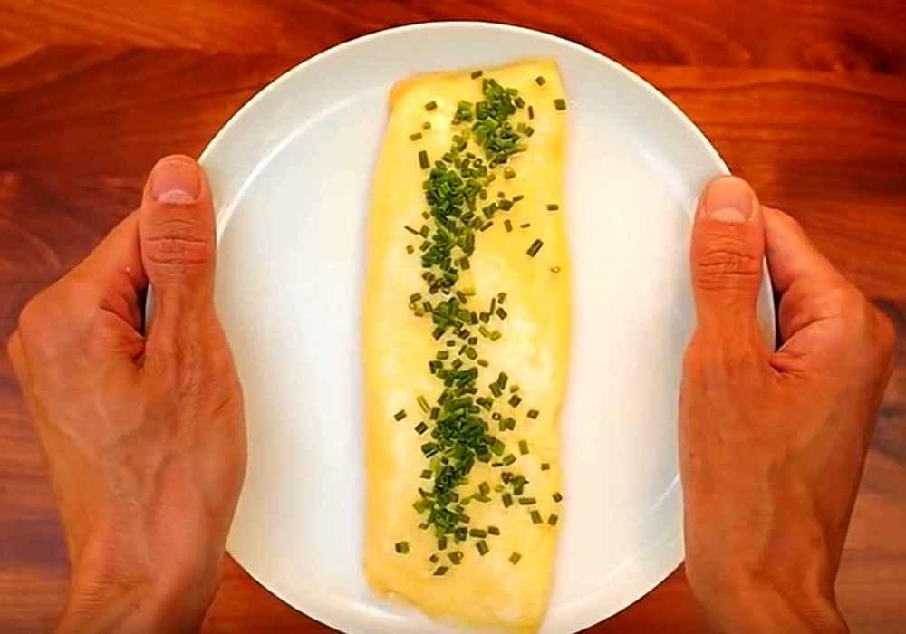 Идеальный омлет за 5 минут
