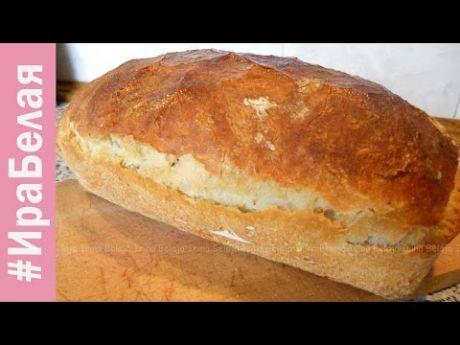 Итальянский хлеб чиабатта в хлебопечке: замес без хлопот