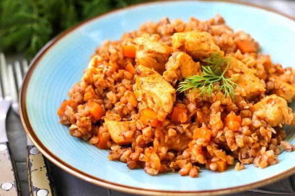 Как просто и вкусно приготовить гречку с фасолью