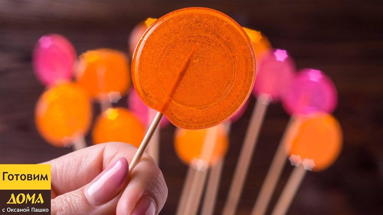 Леденцы на палочке и не только из сахара и без сахара 11 домашних вкусных рецептов
