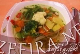 """Суп овощной """"вкусный"""""""