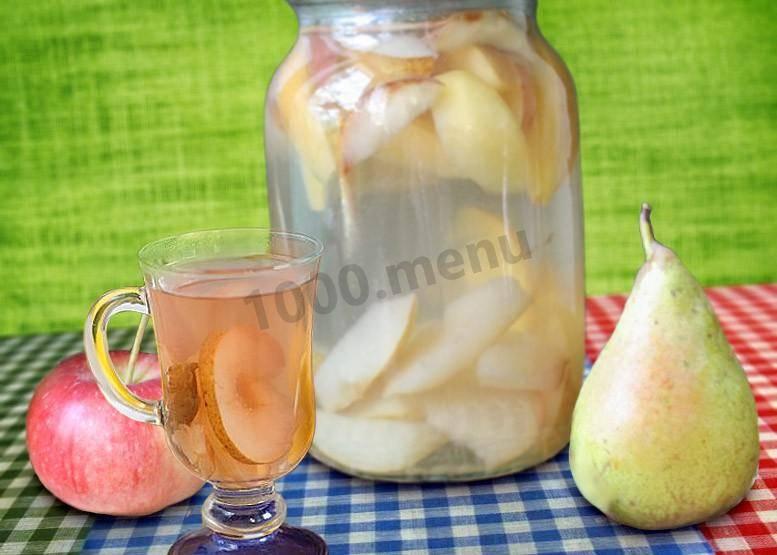 Яблочный компот на зиму: вкусные рецепты