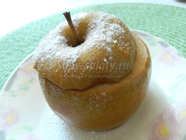 Печеные яблоки в мультиварке, рецепт от анны