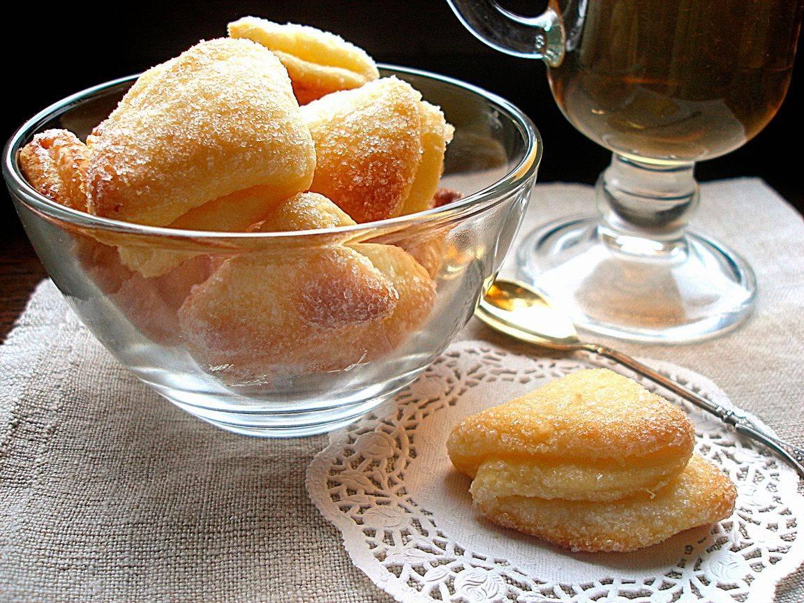 Печенье с творогом через мясорубку