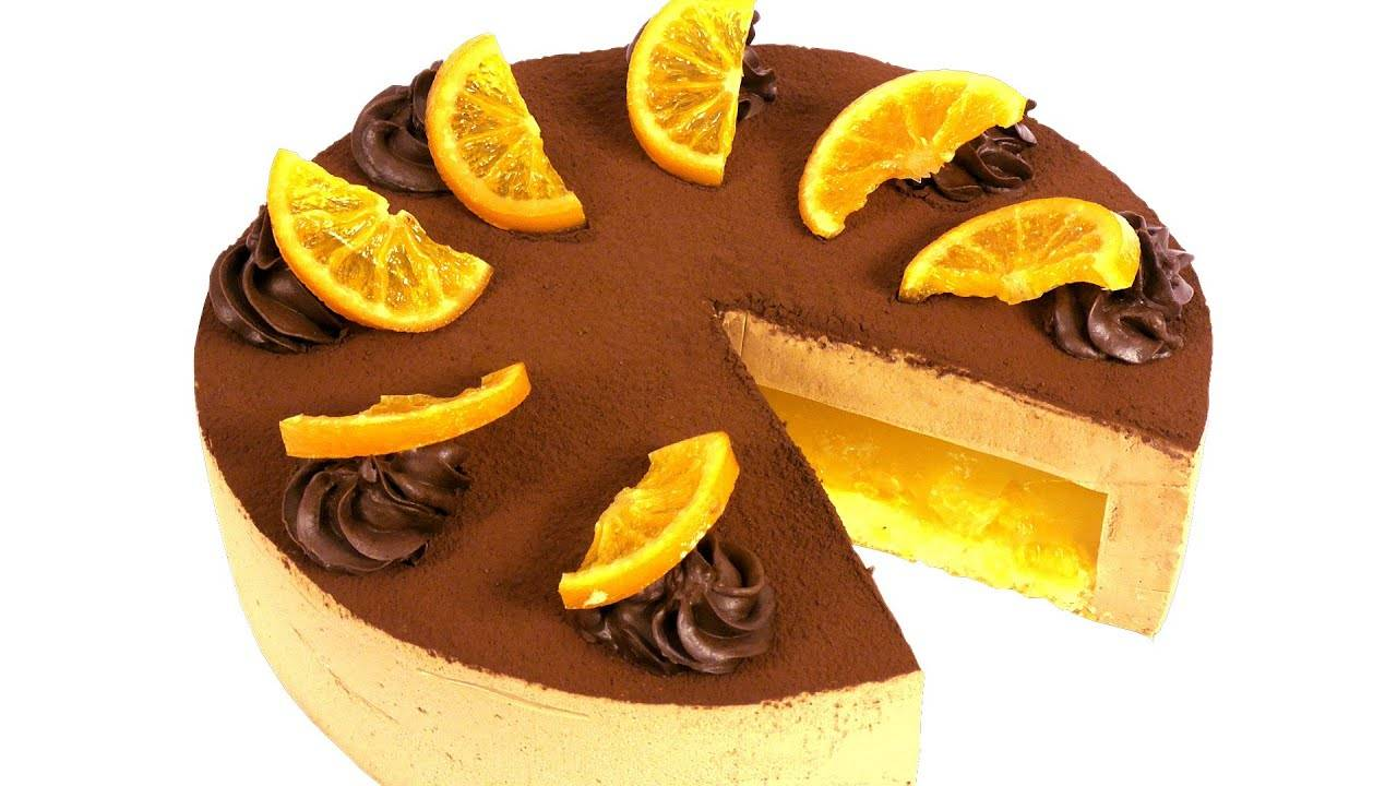Шоколадно-апельсиновые торты: лучшие рецепты