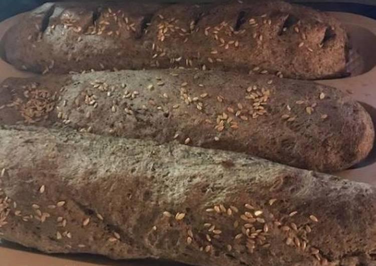 """Итальянский молочный хлеб """"гармошка"""""""