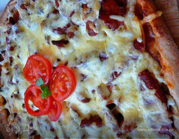 Кулинария мастер-класс рецепт кулинарный тесто для пиццы с добавлением ржаной муки продукты пищевые